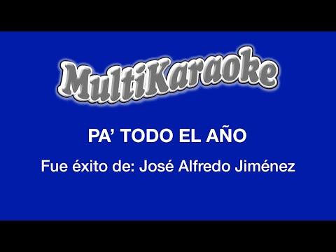 Multi Karaoke - Pa'todo El Año