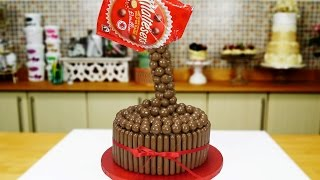 Magic Chocolate Malteser Cake