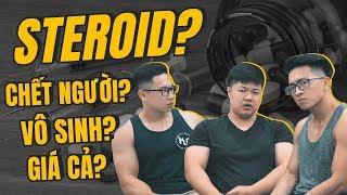STEROID - Tất cả những gì bạn cần biết! | An Nguyen Fitness