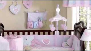 Sweet Kayla Girl Baby Crib Bedding Set By Jojo Designs