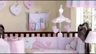 Sweet Kayla Girl Baby Crib Bedding Set By Jojo Designs