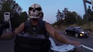 This Video Previously Contained A Copyrighted Audio Track. Due To A Claim By A Copyright Holder, The Audio Track Has Been Muted.     Bmk K1600 Gtl Exclusive Skull Ride From Fall City To Spanaway Aug 2015