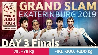 Judo Grand-Slam Ekaterinburg 2019: Day 3 - Final Block