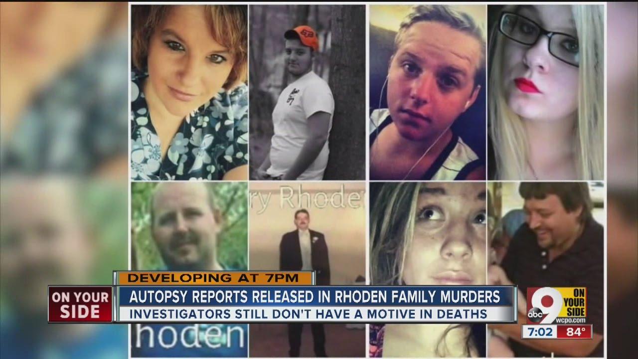 Autopsy reports released in Rhoden family killings - YouTube