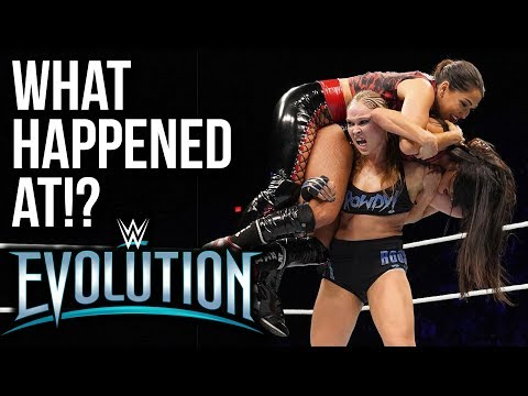 WHAT HAPPENED AT: WWE Evolution