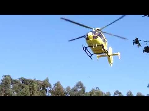 Cinco personas resultan heridas en un choque en Catoira