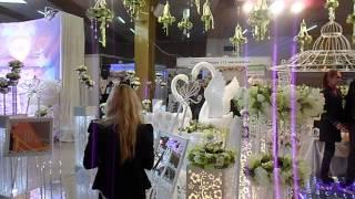 """обзорная экскурсия по выставке и шоу программе """"Свадьба"""" Одесса 2013 год"""