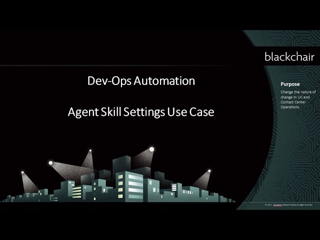 Dev Ops - Agent Skill Settings