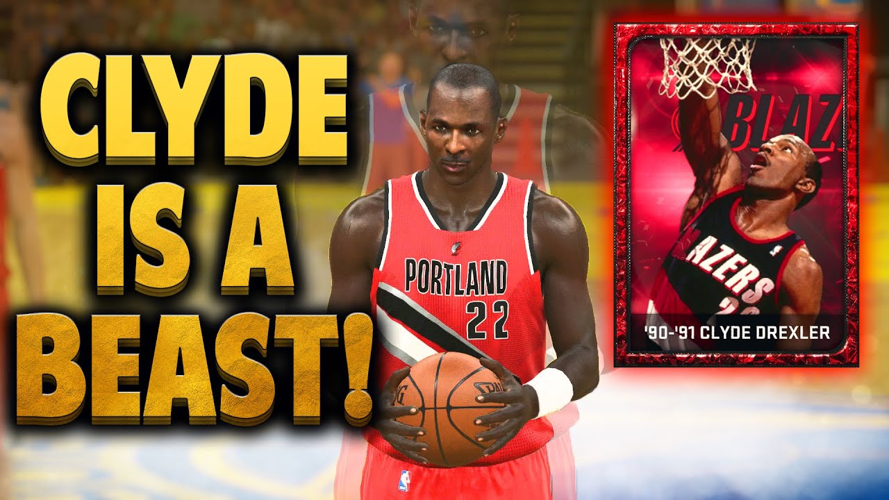 NBA 2K15 MyTEAM Ruby Clyde Drexler IS A BEAST