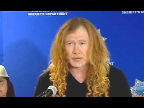 Dave Mustaine press conference – King Diamond rehearsal – Tony Martin update – Flying colors video