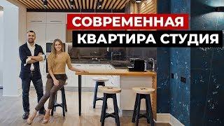 видео Дизайн интерьера квартиры студии