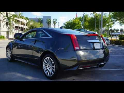 Used Cadillac CTS Miami Fort Lauderdale FL BR YouTube - Cadillac dealer miami