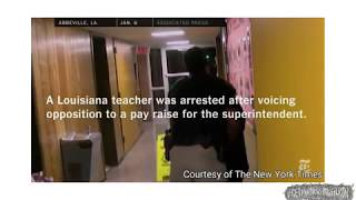Teacher Pinned On Ground And Arrested For Asking Question