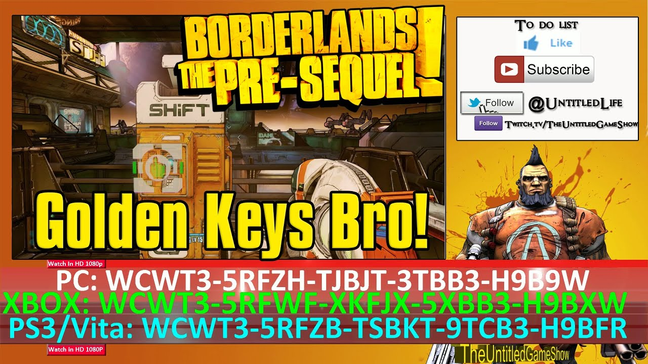 Borderlands Pre Sequel Shift Codes October 15th to October ... Borderlands The Pre Sequel Shift Codes