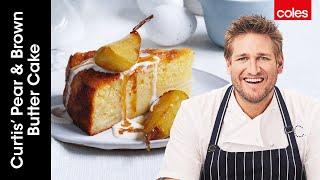 Curtis' Pear \u0026 Brown Butter Cake