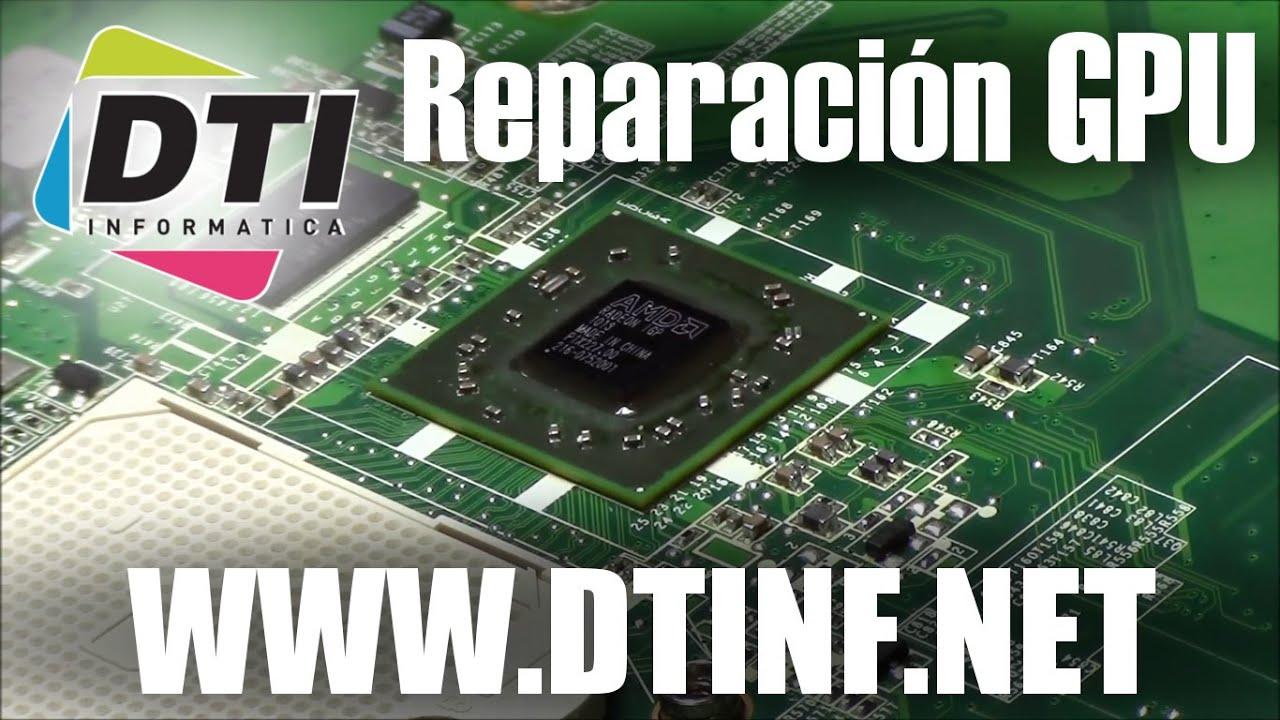 Reparaci n de gr fica gpu reparaci n de ordenadores en for Reparacion de portatiles en barcelona