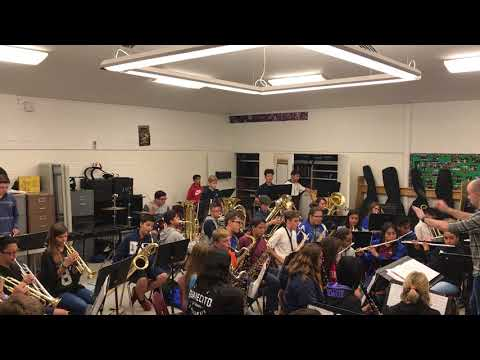 Music from Pirates of the Caribbean - Cerro Villa Middle School Advanced Band