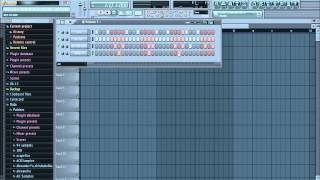 ► Make a RAGGA DRUM BEAT in FL Studio (Free FLP + Samples Pack)