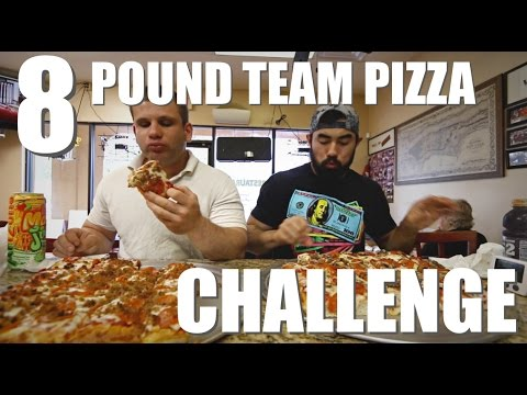 BIG NATE'S PIZZA CHALLENGE WITH JASON GENOVA