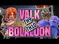 TH9 HEALED MASS VALK and TH10 BOLALOON ATTACK STRATEGIES | BADA WAR TRIPLES | Clash of Clans