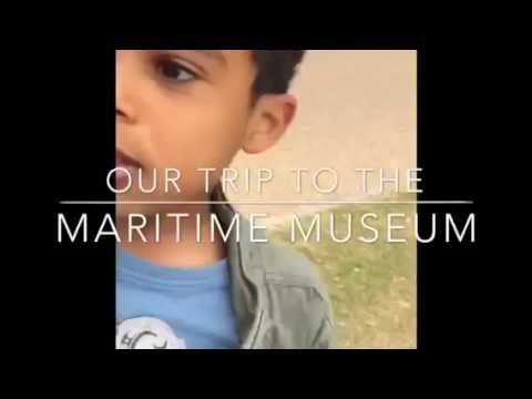 Our trip to the national  maritime museum