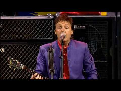 Paul McCartney - Flaming Pie (Live)