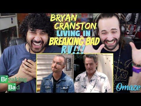 AARON PAUL Discovers BRYAN CRANSTON Living In BREAKING BAD RV // Omaze - REACTION!!!