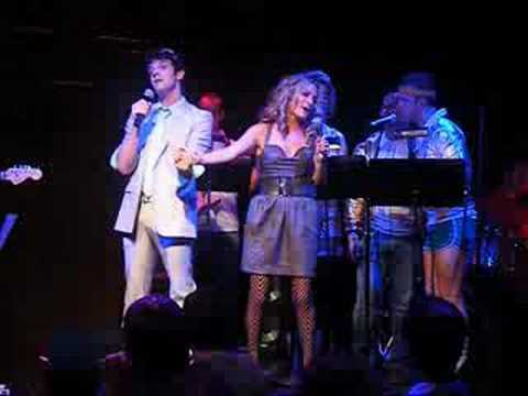 Bway Loves the 80s Michael Urie and Becki Newton pt 1 of 3