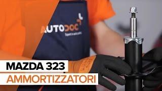 Come sostituire Ammortizzatori MAZDA 323 F VI (BJ) - video gratuito online