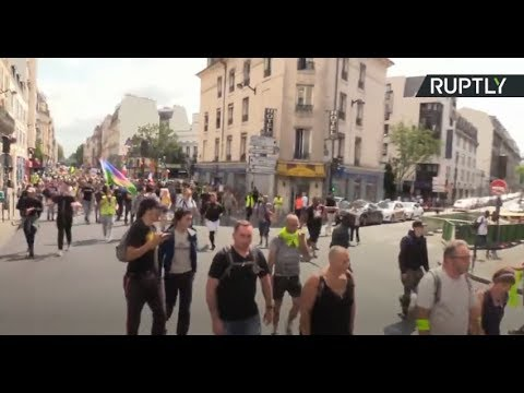 Yellow Vests protest for 35th straight week in Paris