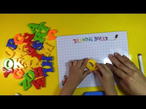 LEARN THE ENGLISH ALPHABET AND SING YOUR ABC'S WITH LARCEN