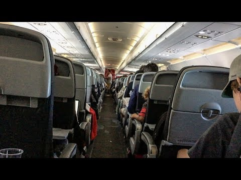 Air Canada Rouge A321 economy class YYZ-SAN