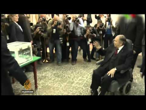 Supporters of Algeria's Bouteflika claim victory