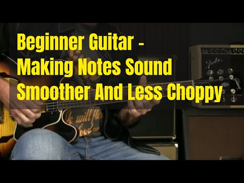 Beginning Guitar Lesson – Smoother Notes And Better String Crossing