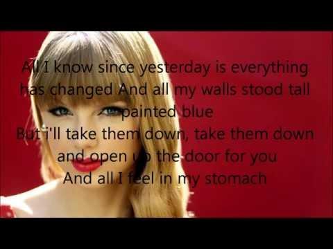 everything-has-change-lyrics