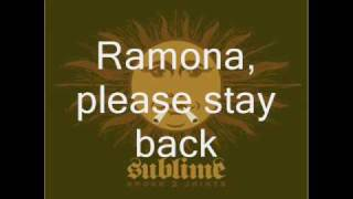 Sublime- Waiting For My Ruca lyrics