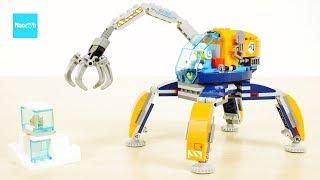 レゴ シティ 北極探査ロボット 60192 セット説明 2:10~ / LEGO City Arctic Ice Crawler 60192 Build & Review