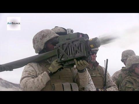 FIM-92 Stinger Missile Target Shooting Live-Fire