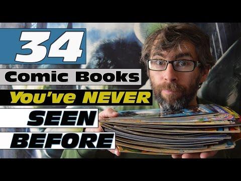 34 Comic books you've Never seen before - DC - Marvel - Dark Horse Comics - IDW - IPC - 88 Mph - Mad