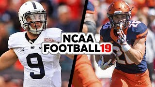 Penn State @ Illinois - 9-21-18 NCAA Football 19 Week 4 Simulation