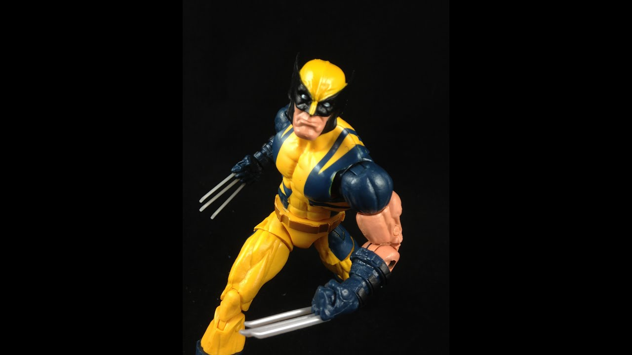 marvel legends wolverine puck series review