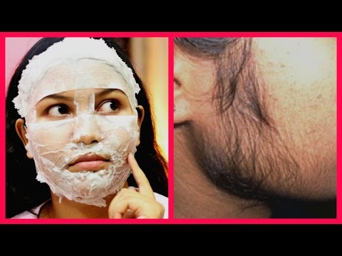 Thumbnail: How To Remove FACIAL HAIR and BLACKHEADS Naturally at Home / Hindi Tips