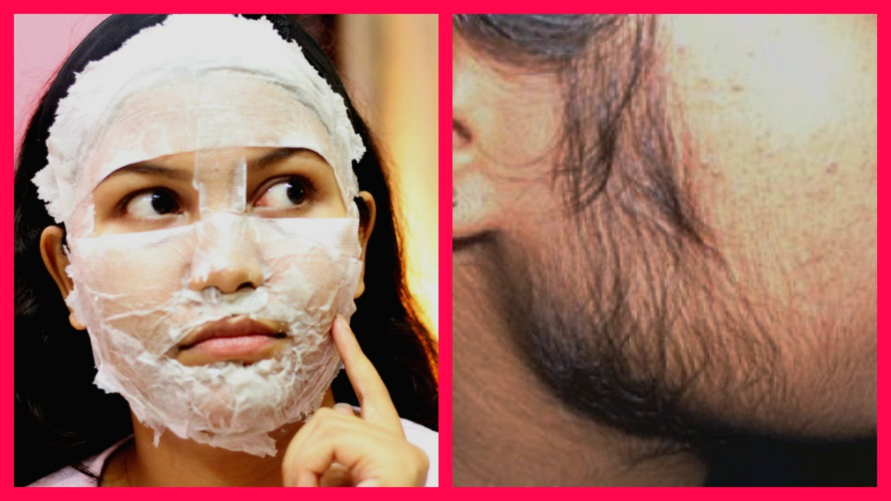 How To Remove Facial Hair Naturally At Home In Hindi