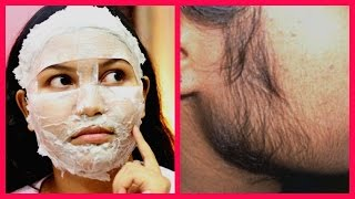 How To Remove FACIAL HAIR and BLACKHEADS Naturally at Home / Hindi Tips