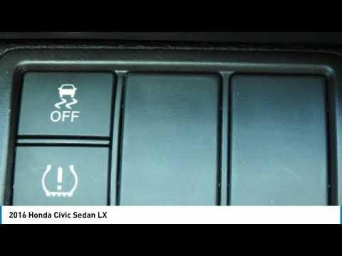 2016 Honda Civic Sedan JRV9594