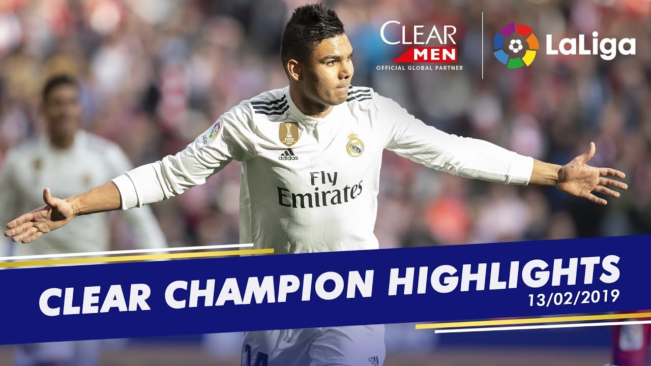 Casemiro takes flight, En-Nesry's hat-trick and Darder's late show - LaLiga's champion moments
