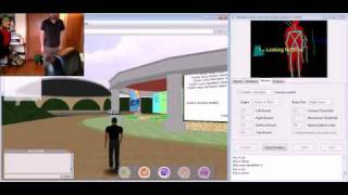 Open Wonderland and Microsoft Kinect