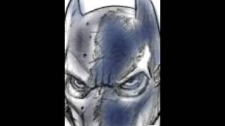 Army of two - batman game art drawing dreamstudios