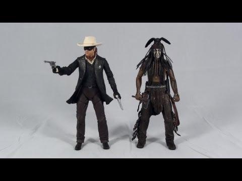 Turmoil In The Toybox - NECA The Lone Ranger Series 1