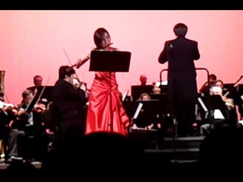 Ji Yun Yi beautiful flute solo Carmen Fantasy